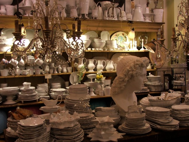 lovely white dish's