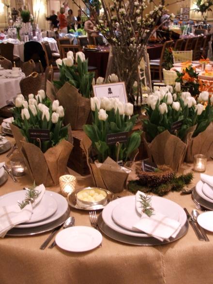Ritz-Carlton Table Top Design Style